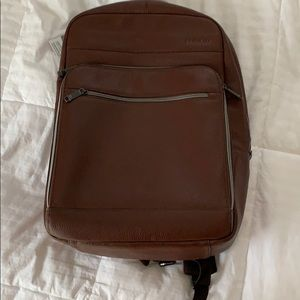 Leather Backpack - Brand New
